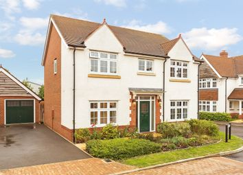 Thumbnail 4 bed detached house for sale in Hereford Way, Royston, Hertfordshire