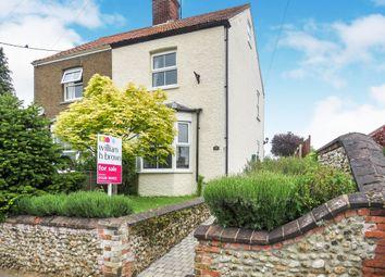 Thumbnail 2 bedroom semi-detached house for sale in Sculthorpe Road, Fakenham
