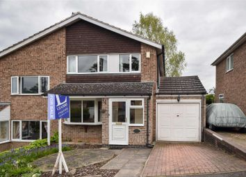 Thumbnail 3 bed property for sale in Dunholme Avenue, Loughborough