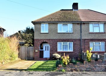 Thumbnail 3 bed semi-detached house for sale in Worsley Road, Frimley, Surrey