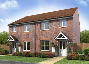 "Thumbnail 3 bed end terrace house for sale in ""The Flatford - Plot 86"" at Green Meadow, Wednesfield, Wolverhampton"