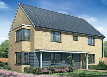 "Thumbnail 3 bed detached house for sale in ""The Birch"" at Fields Road, Wootton, Bedford"