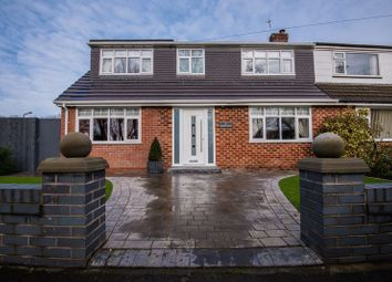 Thumbnail 4 bed semi-detached house for sale in Redsands, Aughton, Ormskirk