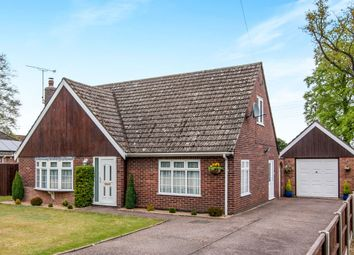 Thumbnail 4 bed detached bungalow for sale in Pilgrims Way, Weeting, Brandon