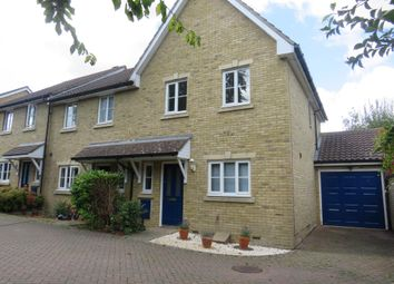 Thumbnail 3 bed terraced house to rent in Chestnut Close, Chartham, Canterbury