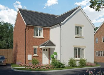 Thumbnail 4 bed detached house for sale in Highfields, Church Road, Pontprennau, Cardiff