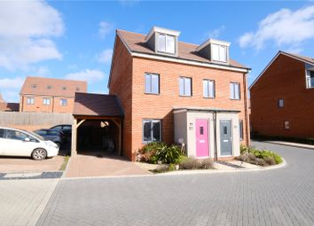 Thumbnail 3 bed semi-detached house for sale in Bailey Drive, Castle Hill, Ebbsfleet Valley, Swanscombe