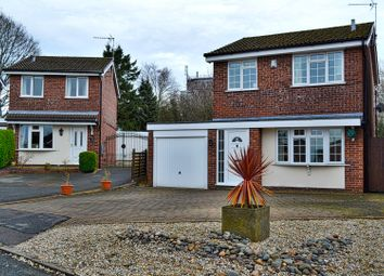 Thumbnail 3 bed detached house for sale in Annan Close, Congleton