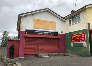Thumbnail Retail premises for sale in Broughton Avenue, Blaen Y Maes, Swansea