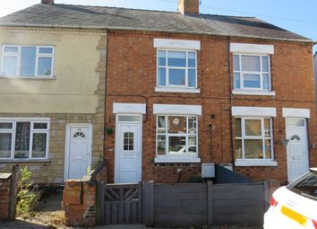 Thumbnail 2 bed town house for sale in Dunton Road, Broughton Astley, Leicester
