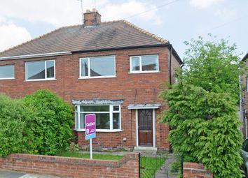 Thumbnail 3 bed semi-detached house to rent in Danum Road, York