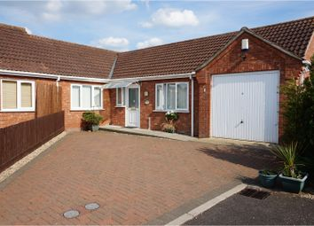 Thumbnail 2 bed bungalow for sale in Walnut Close, Wisbech