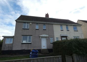 Thumbnail 3 bedroom semi-detached house to rent in Ongar Way, Newcastle Upon Tyne
