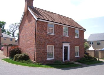 Thumbnail 3 bed detached house for sale in Warren Avenue, Saxmundham, Suffolk