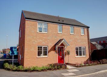Thumbnail 3 bed detached house for sale in Kerridge Drive, Warrington