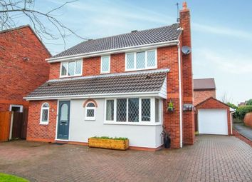 Thumbnail 4 bed detached house for sale in Swettenham Close, Alsager, Cheshire