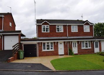 Thumbnail 3 bed semi-detached house for sale in Bronte Close, Galley Common, Nuneaton