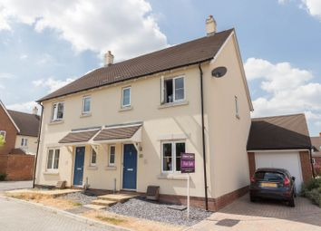 Thumbnail 3 bed semi-detached house for sale in Stalls Road, Andover