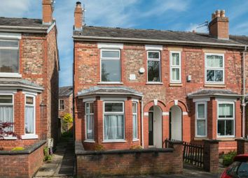 Thumbnail 3 bed end terrace house for sale in Mayors Road, Altrincham