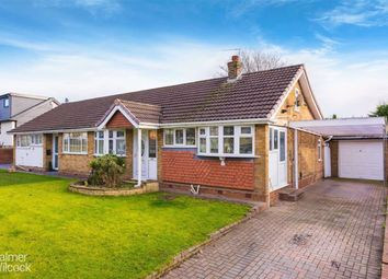 Thumbnail 2 bed semi-detached bungalow for sale in Treen Road, Tyldesley, Manchester