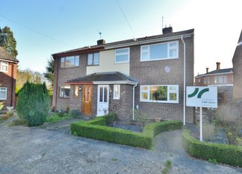 Thumbnail 3 bedroom semi-detached house for sale in The Rowans, Cholsey, Wallingford