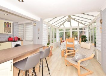 Thumbnail 4 bedroom town house for sale in Elmfield Close, Gravesend, Kent