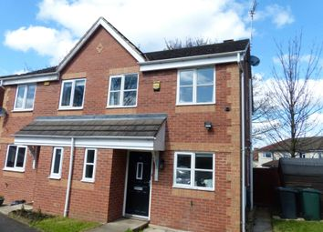 Thumbnail 3 bed semi-detached house to rent in Fisher Way, Heckmondwike, West Yorkshire