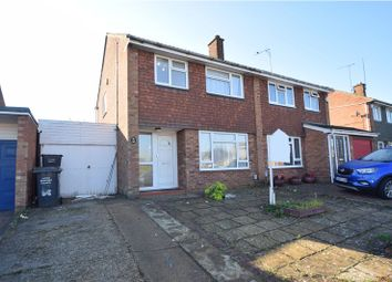 Thumbnail 3 bed semi-detached house to rent in Holgate Drive, Luton