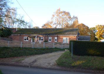 Thumbnail 3 bed detached bungalow for sale in Walnut Hill, Surlingham