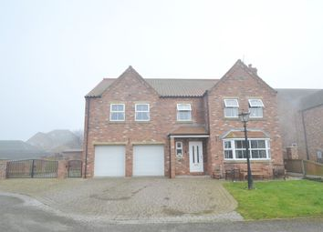 Thumbnail 5 bed detached house to rent in Cleveland Close, Hook, Goole