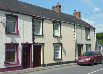 Thumbnail 3 bed terraced house for sale in Church Street, Llangadog