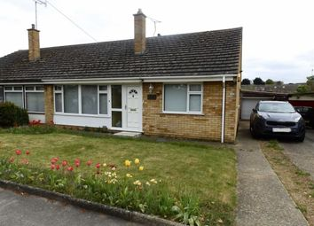 Thumbnail 3 bedroom semi-detached bungalow for sale in Holcombe Crescent, Ipswich, Suffolk