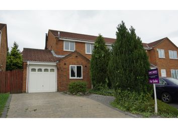 Thumbnail 2 bed semi-detached house for sale in Hilltop Road, Durham