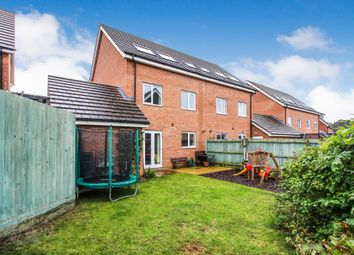 Thumbnail 4 bed town house for sale in Rose Avenue, Queens Hills, Norwich