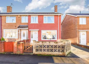 Thumbnail 3 bed terraced house for sale in Tithe Barn Road, Stockton-On-Tees