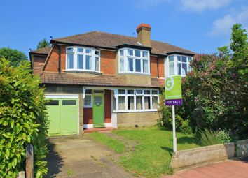 Thumbnail 4 bed semi-detached house for sale in The Byeways, Berrylands, Surbiton