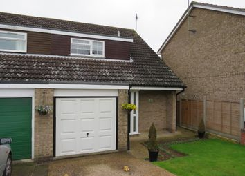 Thumbnail 3 bed semi-detached house for sale in Netley Close, Ipswich