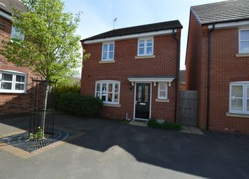 Thumbnail 3 bed detached house for sale in Teeswater Close, Long Lawford, Rugby, Warwickshire