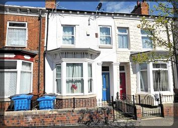 Thumbnail 3 bedroom terraced house to rent in Sandringham Street, Anlaby Road, Hull