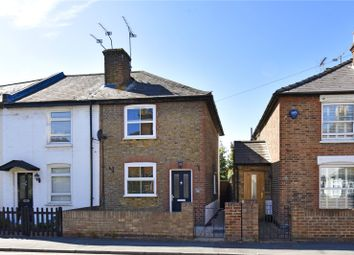 Thumbnail 2 bed end terrace house to rent in Anyards Road, Cobham, Surrey