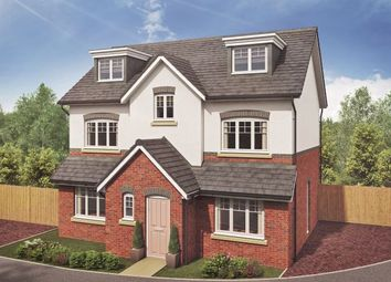 Thumbnail 5 bedroom detached house for sale in Westlow Heath, Congleton, Changecheshire