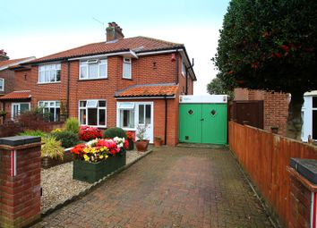 Thumbnail 3 bedroom semi-detached house for sale in Patricia Road, Norwich