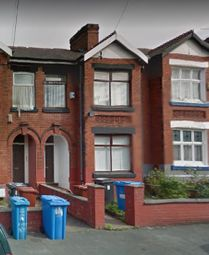 Thumbnail 4 bedroom terraced house to rent in Berkeley Avenue, Manchester