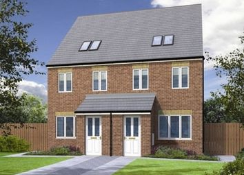 "Thumbnail 3 bed terraced house for sale in ""The Swale"" at Grange Lane South, Scunthorpe"