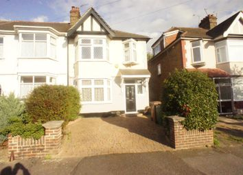 Thumbnail 3 bed end terrace house for sale in Evanston Avenue, London