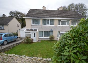Thumbnail 3 bed semi-detached house to rent in Malabar Road, Truro