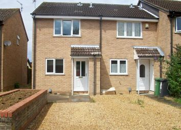 Thumbnail 2 bed terraced house to rent in Somerville, Werrington, Peterborough