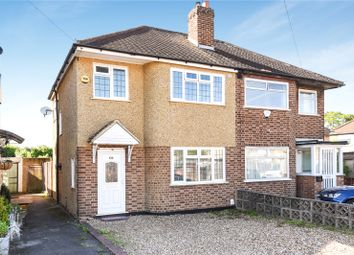 Thumbnail 3 bed semi-detached house for sale in Parkfield Crescent, South Ruislip, Middlesex