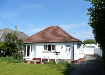 Thumbnail 3 bed detached bungalow for sale in Crookes Lane, Kewstoke, Weston-Super-Mare