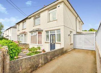 Thumbnail 3 bed semi-detached house for sale in Dean Park Road, Plymstock, Plymouth